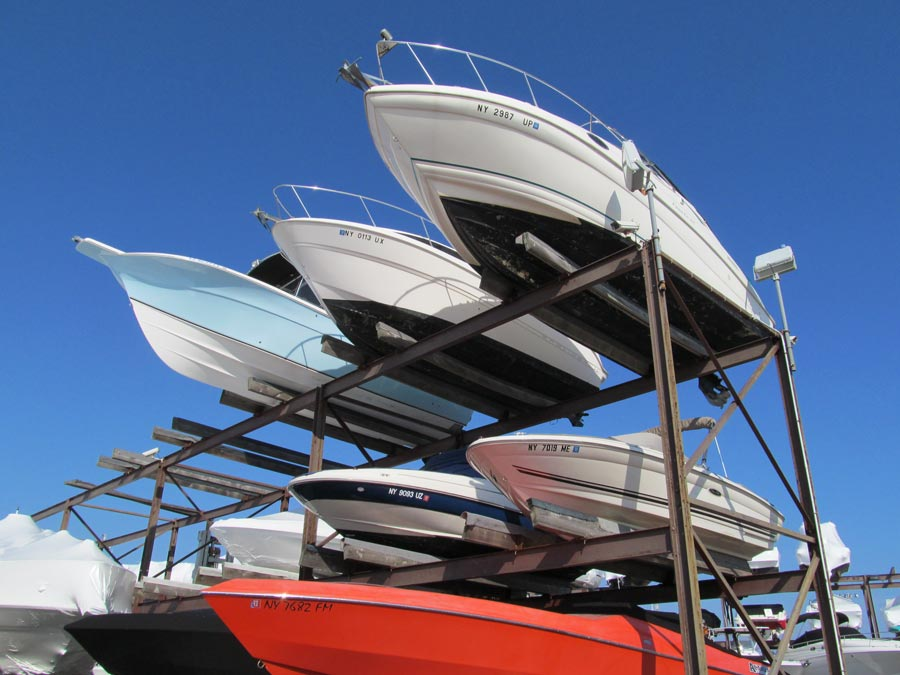 East Shore Marine - High and Dry Rack