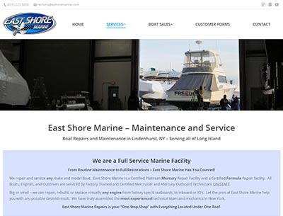 Boat Repairs - Long Island - Lindenhurst | East Shore Marine