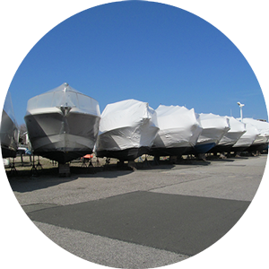 Long Island Winter Boat Storage and Shrink Wrapping
